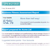 Springfords fitness test