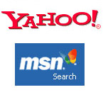 Yahoo and MSN
