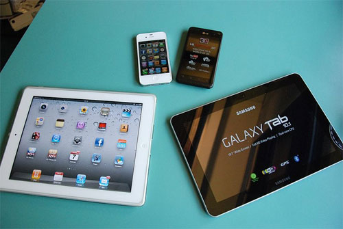 mobile devices - photo by HLundgaard from Wikimedia Commons